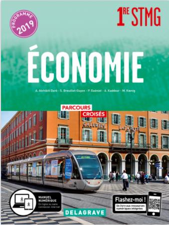 Corrigé Eco Première DELAGRAVE 2019