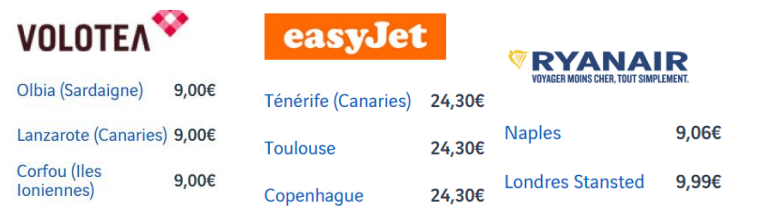 ETLV : Corrigé Airlines Work